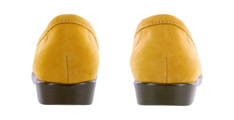 Simplify Mustard Nubuck Pair Rear View