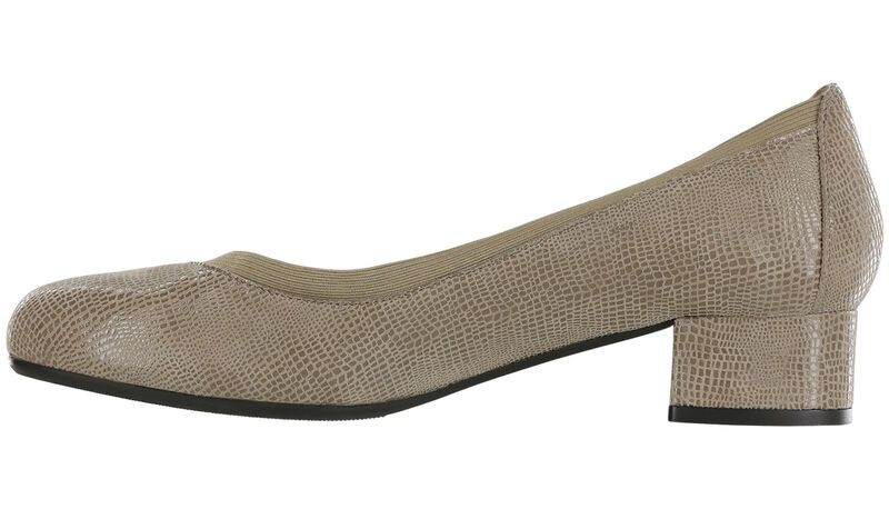Viviana Taupe Viper Right Side View