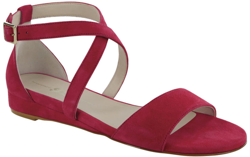 Simone Suede Fuchsia Right .75 View