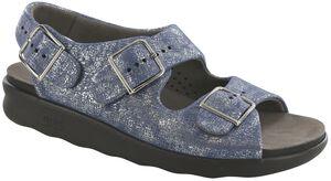 Relaxed Heel Strap Sandal