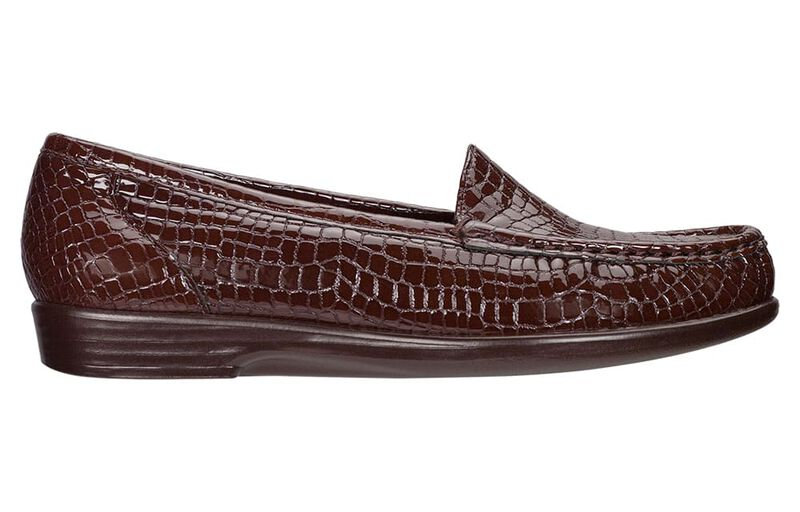 Simplify Brown Croc Left Side View