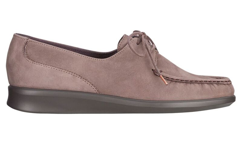 Petra Truffle Nubuck Left Side View