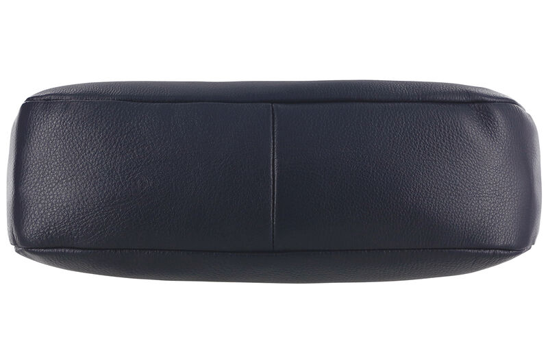 Olivia Shoulder Handbag, Navy, large