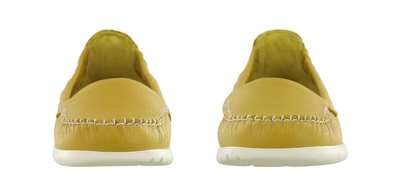 Sunny Canary Yellow Pair Front View