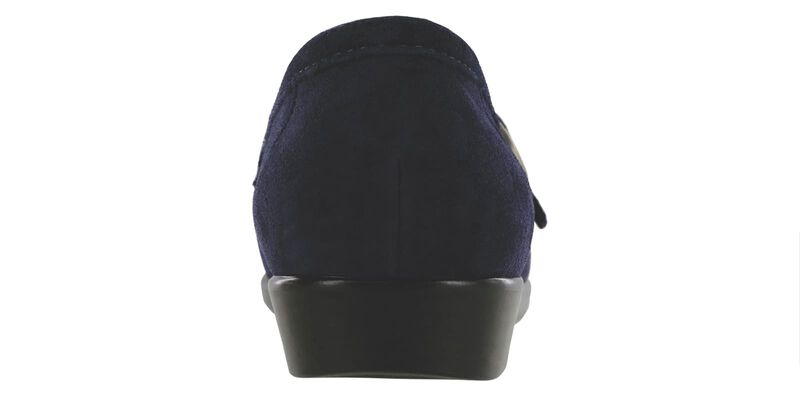 Lara Navy Suede Right Rear View