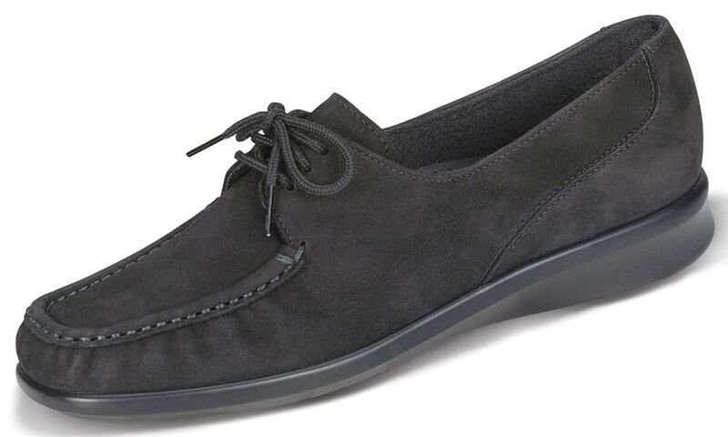Petra Charcoal Nubuck Left .75 View