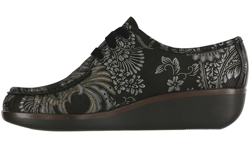 Bounce LTD Brocade / Black Patent Left Side View