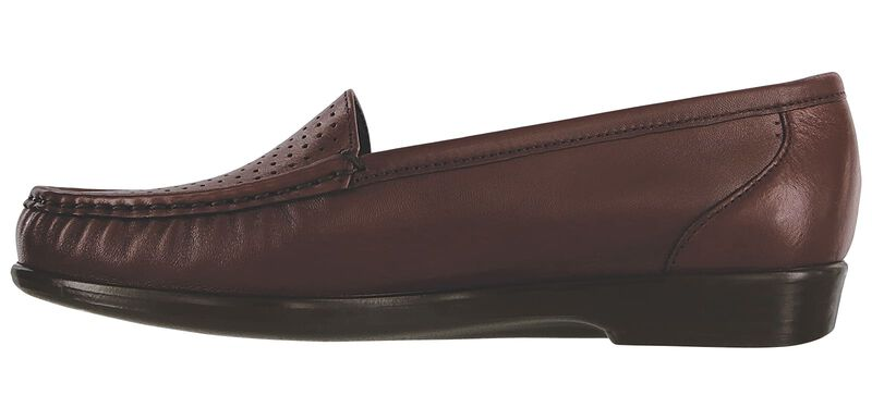 Savvy Slip On Loafer, Wine, large