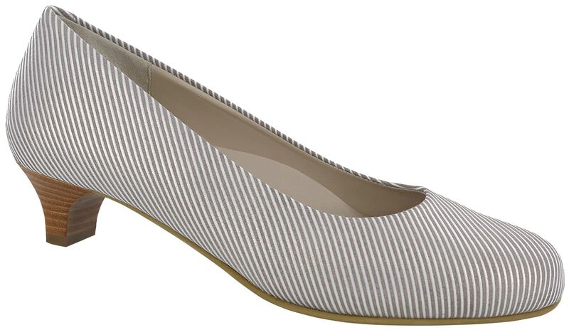 Elaine Taupe Stripe Right .75 View