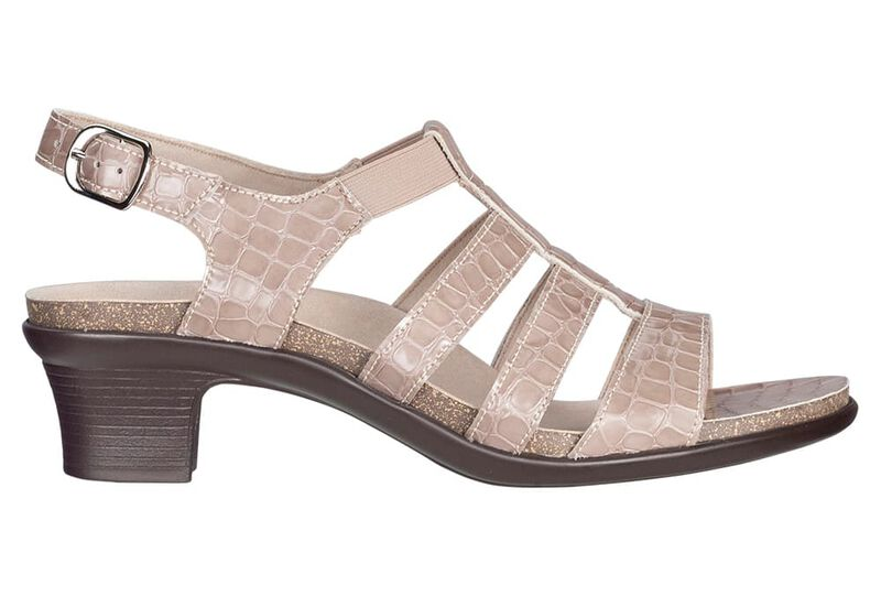 Allegro Taupe Croc Right Side View