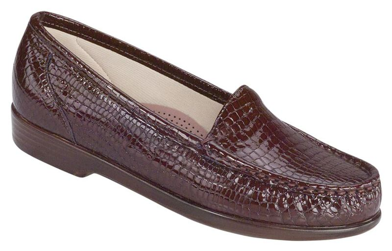 Simplify, Brown Croc, large