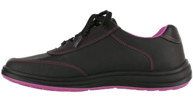 Sporty Black-Pink Right Side View