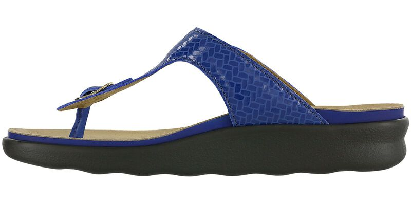 Sanibel Weave Sapphire Right Side View
