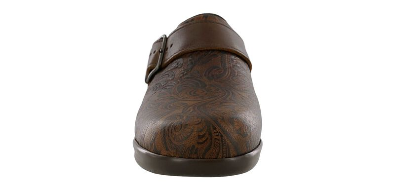 Clog Cowboy Floral Right Front View