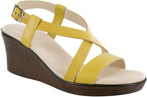 Delight Cross Strap Wedge Sandal