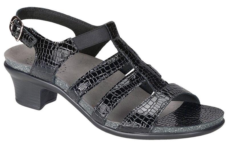 Allegro Black Croc Right .75 View