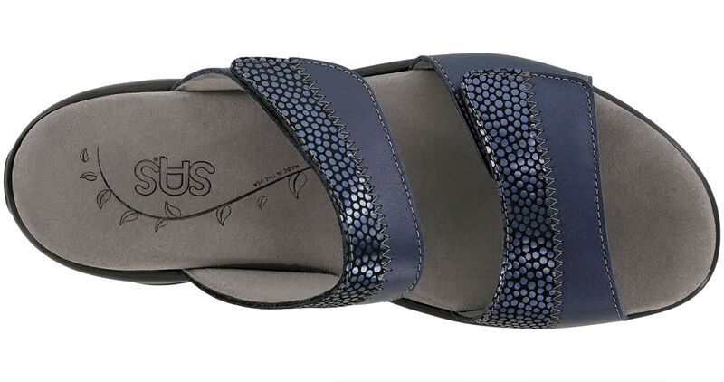 Nudu Slide Navy Left Top View