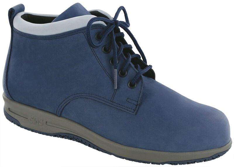 Gretchen Navy-Light Blue Right .75 View