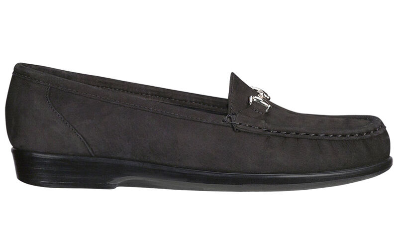 Metro Charcoal Nubuck Left Side View