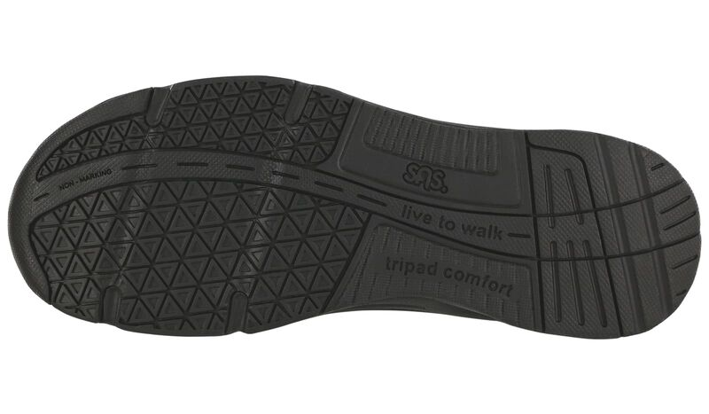 Tour Mesh Black Left Sole View