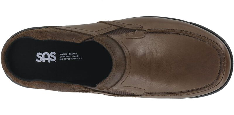 Slip On Mahogany Loafer Top View