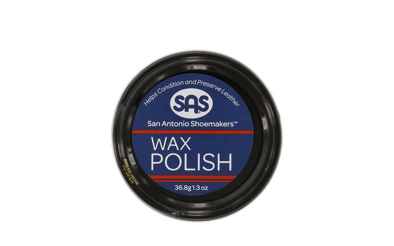 Wax Polish Black Front View