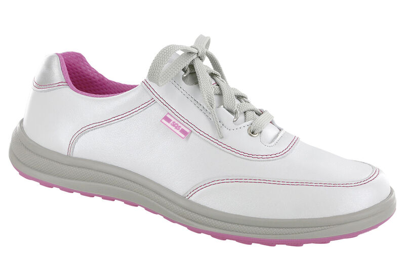 Sporty Bianco-Pink Right .75 View