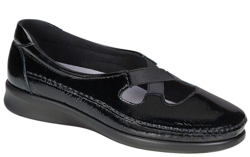 Crissy Black Patent Right .75 View