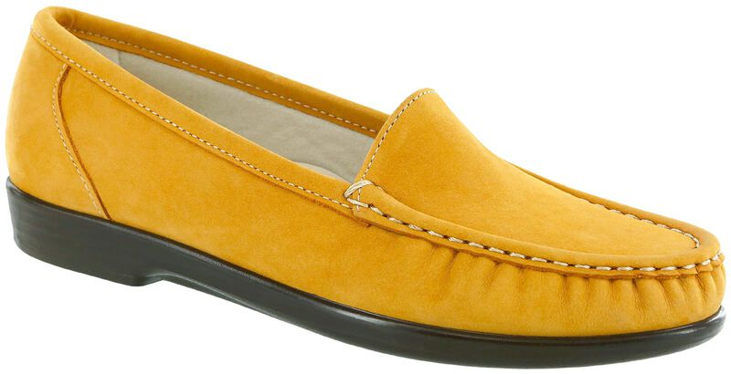 Simplify Mustard Nubuck Right .75 View