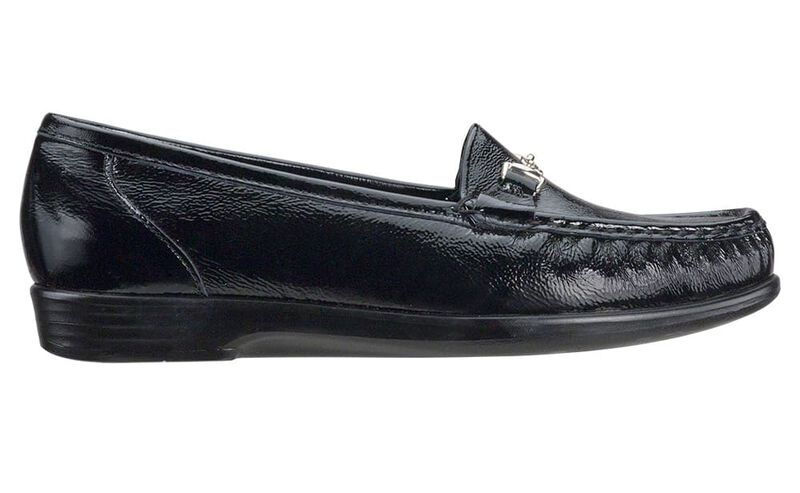 Metro Black Patent Right Side View