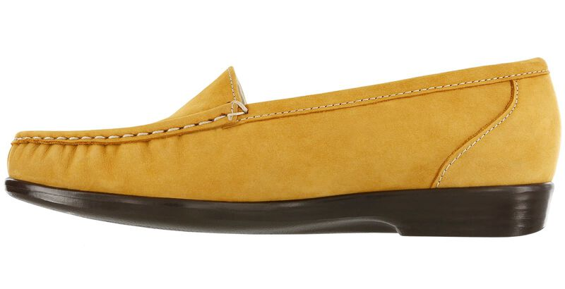 Simplify Mustard Nubuck Right Side View
