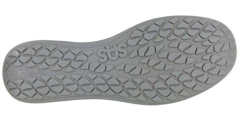 Sporty Lux White Perf Left Sole View