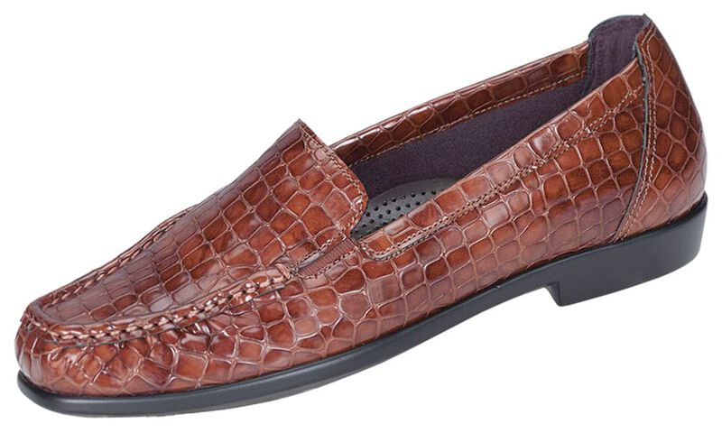 Joy Cognac Croc Left .75 View