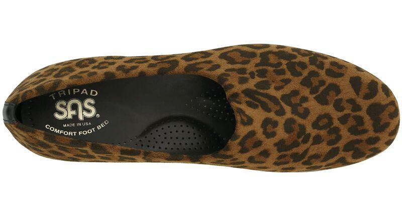 Bliss Tan Leopard Left Top View
