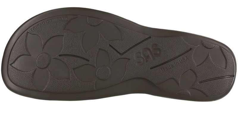Shelly Weave Henna Left Sole View