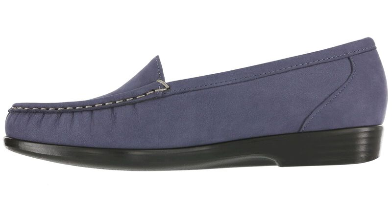 Simplify Navy Nubuck Right Side View