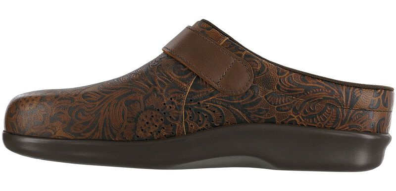 Clog Cowboy Floral Right Side View