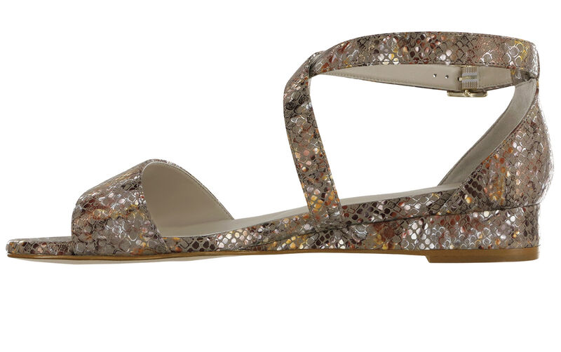 Simone Multisnake Taupe Right Side View