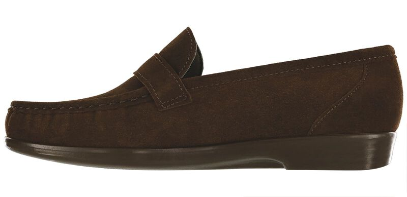 Lara Brown Suede Left Side View