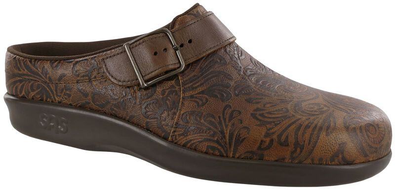 Clog Cowboy Floral Right .75 View