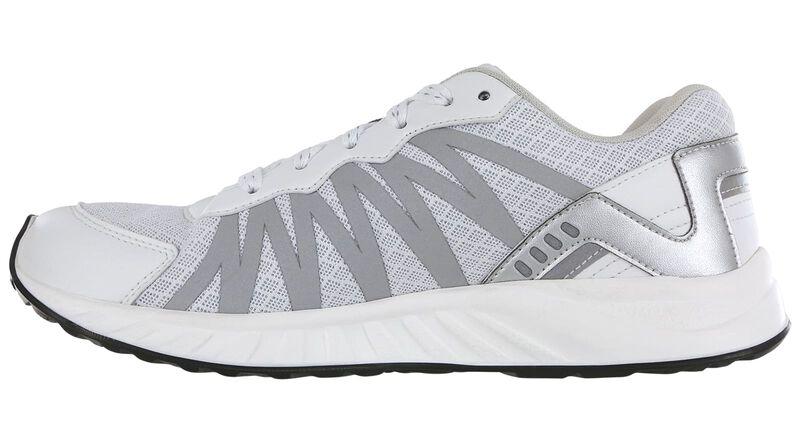 Tempo White-Silver Right Side View
