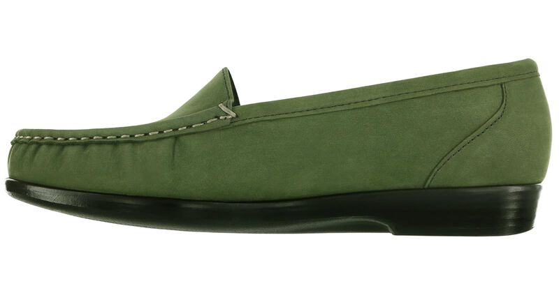 Simplify Green Nubuck Right Side View