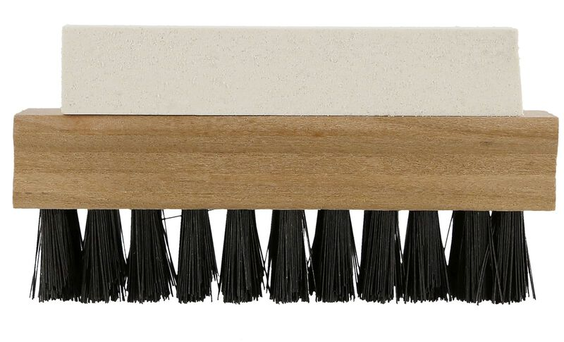 Suede and Nubuck Brush Kit Side View