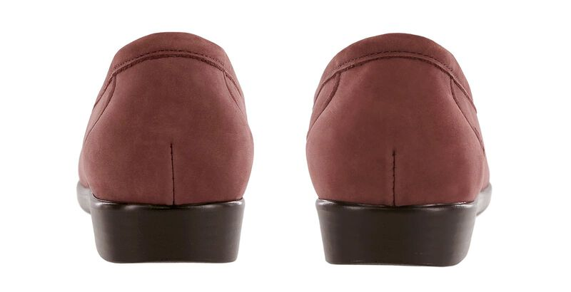 Simplify Wine Nubuck Pair Rear View