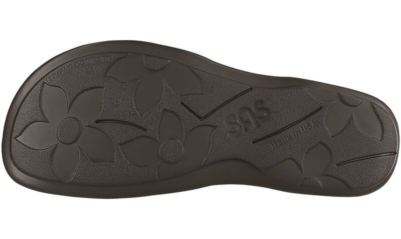 Clover Navy Multi Left Sole View