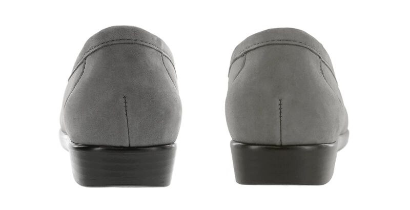 Simplify Gray Nubuck Pair Rear View