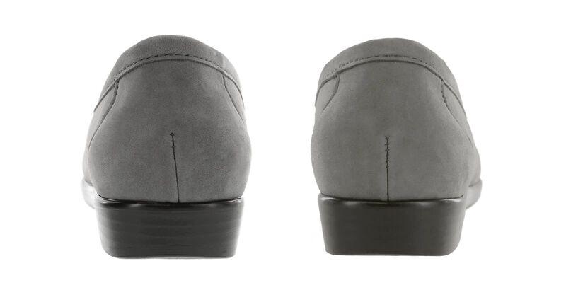 Simplify Gray Nubuck Pair Rear View