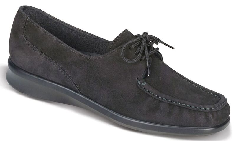 Petra Charcoal Nubuck Right .75 View