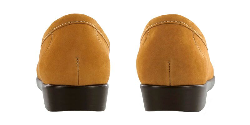 Simplify Rust Nubuck Pair Rear View