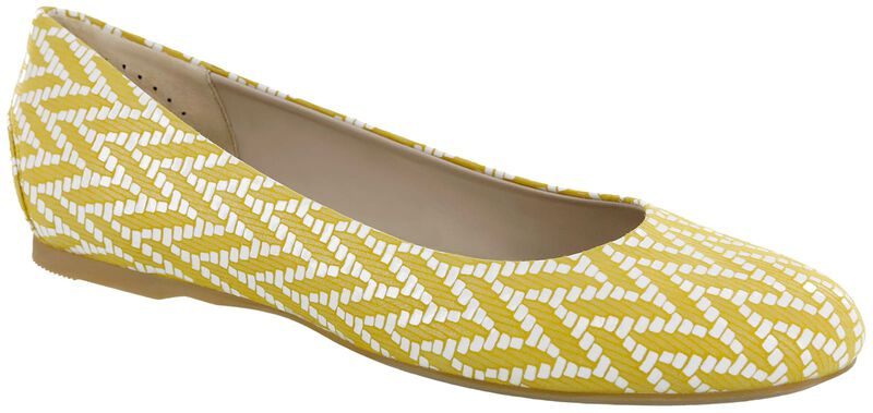 Lacey, Chevron Yellow, large